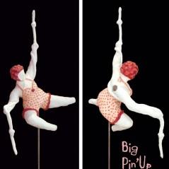 Laeticia Gavini – Big Pin Up danseuse aérienne